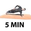5 Minutos Tablón Abdominales