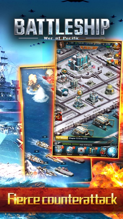 Скриншот Battleship: War of Pacific