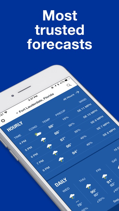 download The Weather Channel: Forecast apps 0