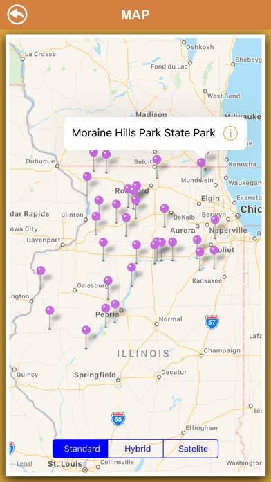 Screenshot for Illinois National Parks in Australia App Store