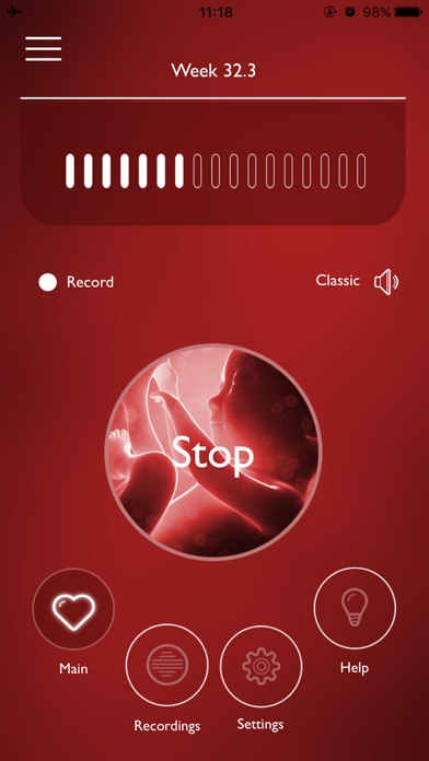 My Baby's Beat App Screenshots