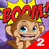 Monk awesome 2 - BOOM bar! game for iPhone/iPad