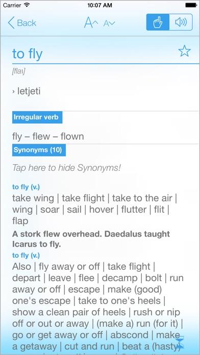 Dictionary Croatian English Screenshots