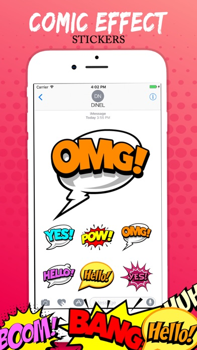 download Comic Stickers Real apps 4