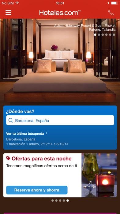 download Hoteles.com Reservas de hotel apps 0