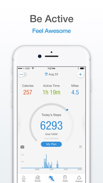 download Pacer: Pedometer & Walking App appstore review
