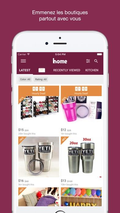 Home Shopping décor et designCapture d'écran de 1
