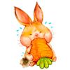 Lidia F. Monje - Easter Hop emoji and stickers artwork