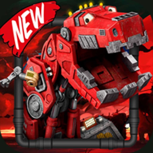 Dino robot dinotrux racing erika jones - Robot erika plus ...