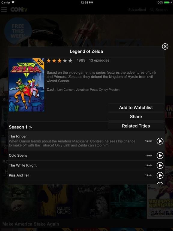CONtv - Movies & TV Shows Screenshots