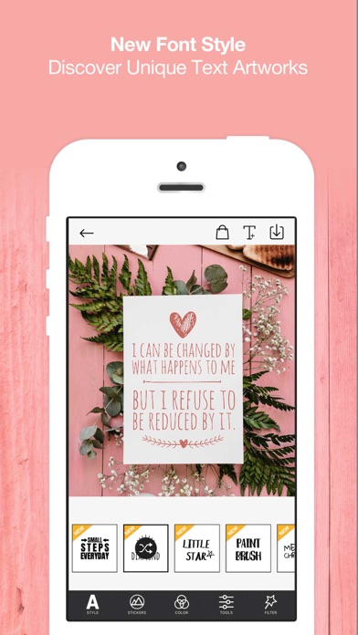 Typcas - Add Text on Photo Screenshots