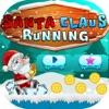 Santa Claus Running Christmas