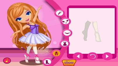 Ballet Dancer -- Dress Up Game Скриншоты4