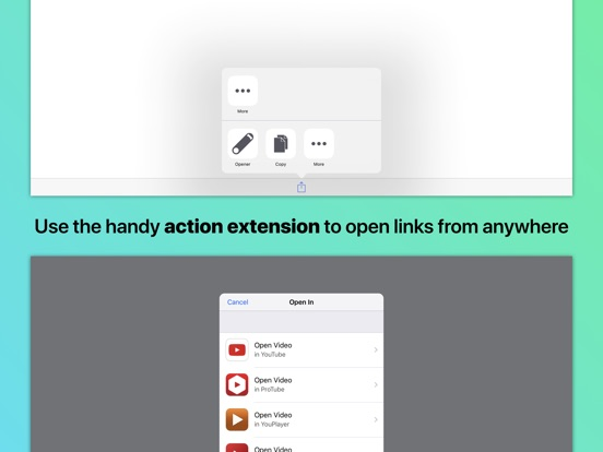 Opener ‒ open links in apps Screenshots