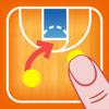 コーチのタクティカルボード-バスケットボール