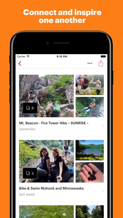 Screenshot 3 for Meetup's iPhone app'