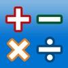 Icône : AB Math - Jeux de calcul mental pour les enfants