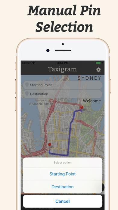 Screenshot of Super Taxigram8