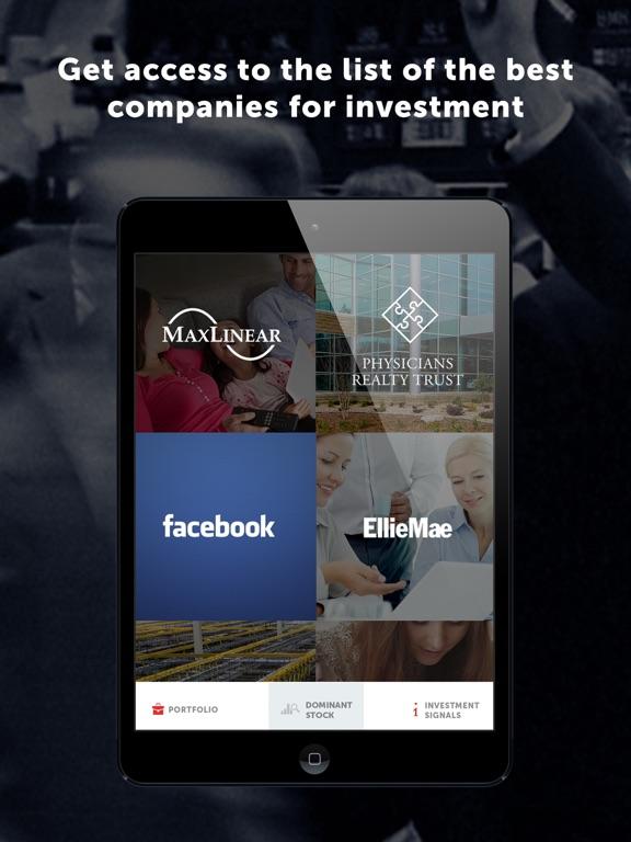 Dominant investors Screenshots