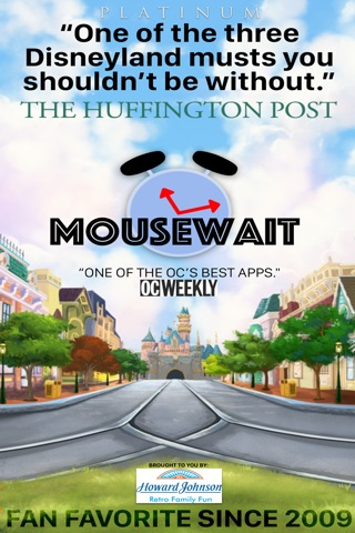 MouseWait Disneyland PLATINUM screenshot 1