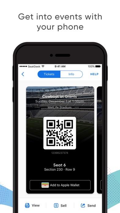 download SeatGeek - Buy Event Tickets apps 1