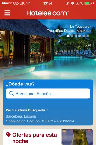 Hotels.com - Hotel booking screenshot 1