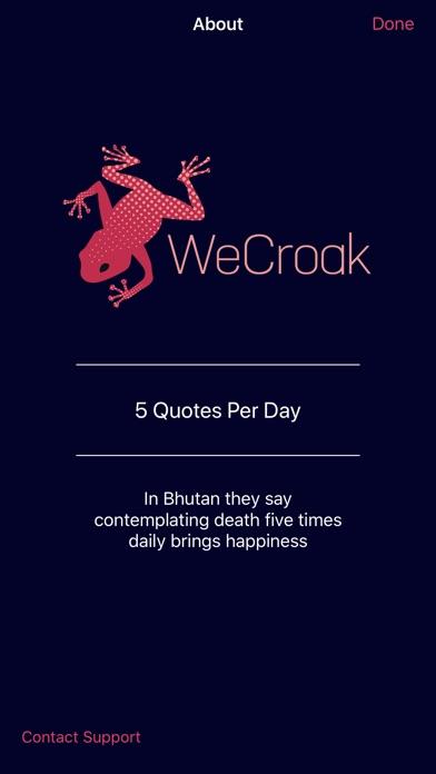 download WeCroak apps 0