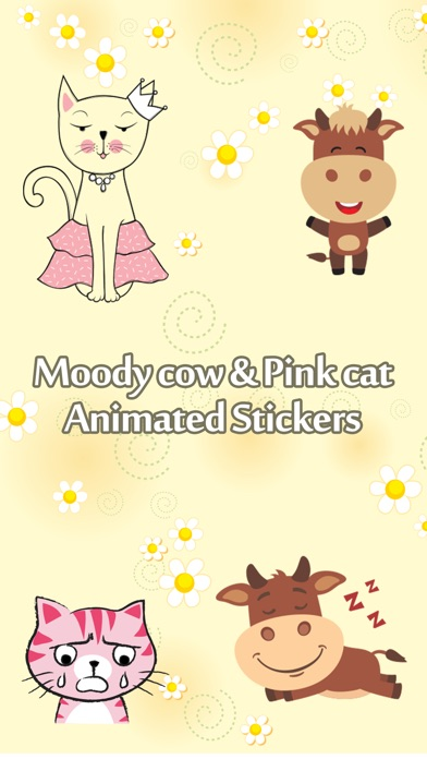 Moody Cows and Pinkish Cat screenshot 1
