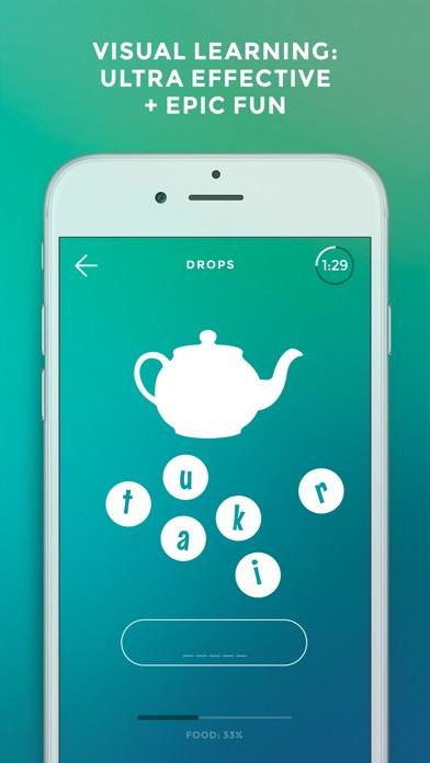 Screenshot of Drops: lingua tagalog1