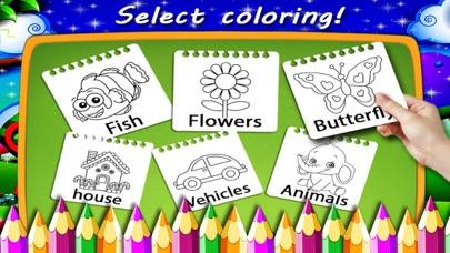 Butterfly Color Finger Paint screenshot 2