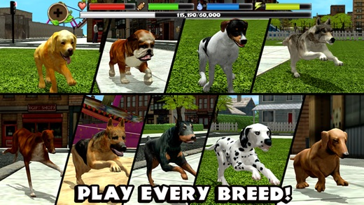 Stray Dog Simulator On The App Store - Stray animals in the us map