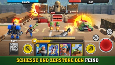 Mighty Battles iOS Screenshots