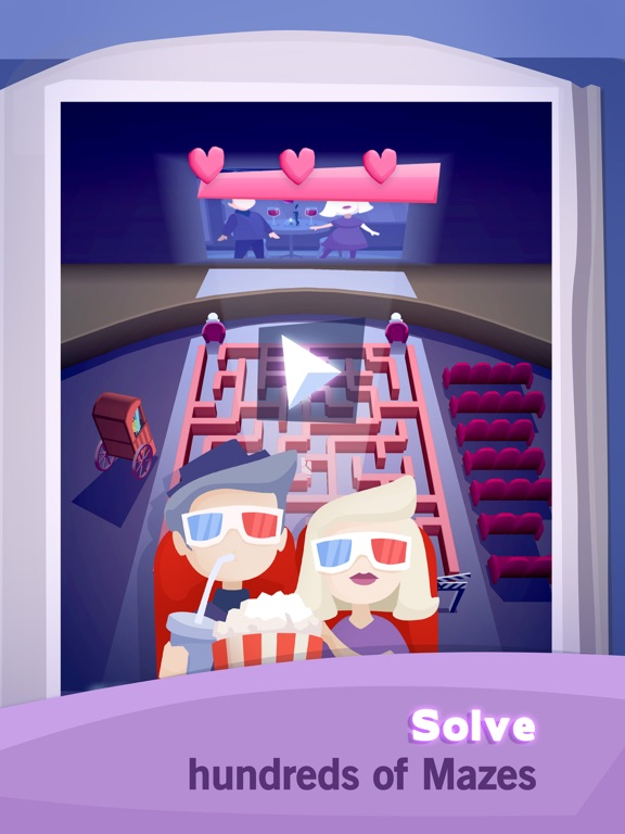 Screenshot 1 A Maze In Love: Puzzle Game