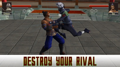 Karate Fighting Warrior 3D screenshot 2