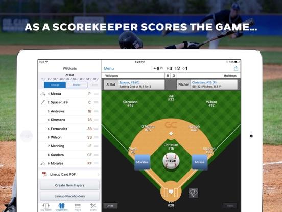 GameChanger Baseball Softball Скриншоты7