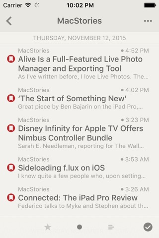 Reeder 3 screenshot 3
