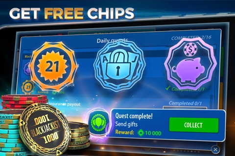 Blackjack 21: Blackjackist screenshot 3