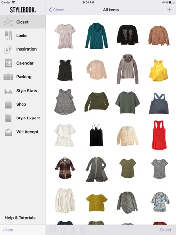 Stylebook screenshot 4