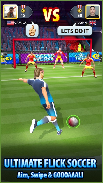 Soccer! Hero - Football Games Screenshot 2