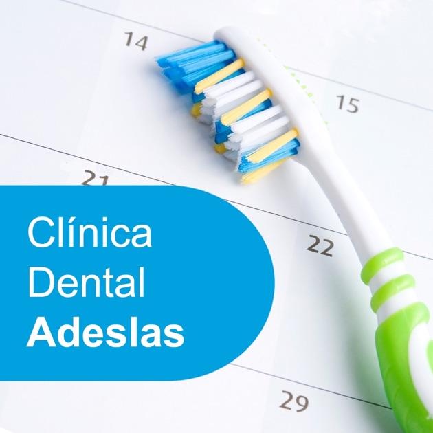 Cl nica dental adeslas en el app store for Clinica dental el escorial