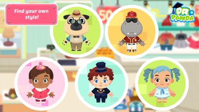 Screenshots of Dr. Panda Town: Mall for iPhone