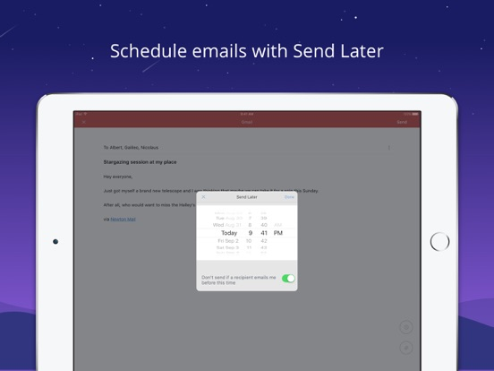 Newton - Supercharged emailing Screenshots