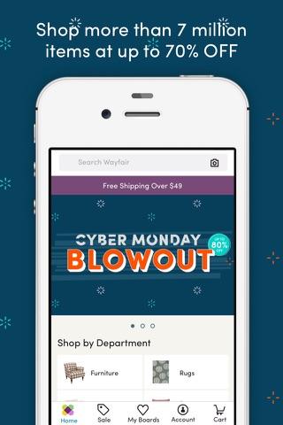 Wayfair – Shop All Things Home screenshot 1