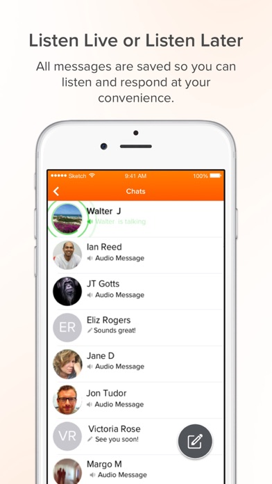 Voxer Walkie Talkie Messenger Screenshots