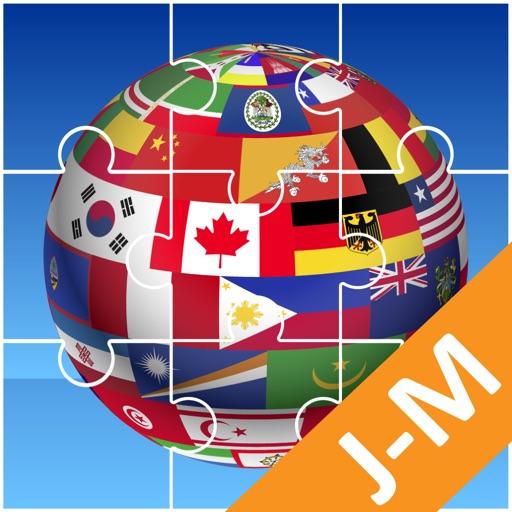 Jigsaw Puzzle National Flag JM