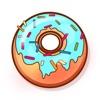 多彩可愛甜甜圈