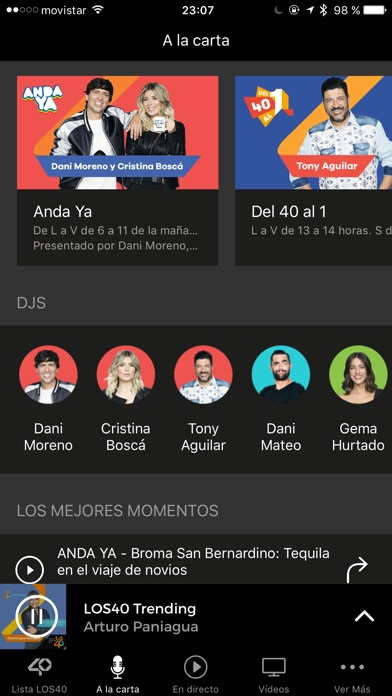 download LOS40 Radio apps 0