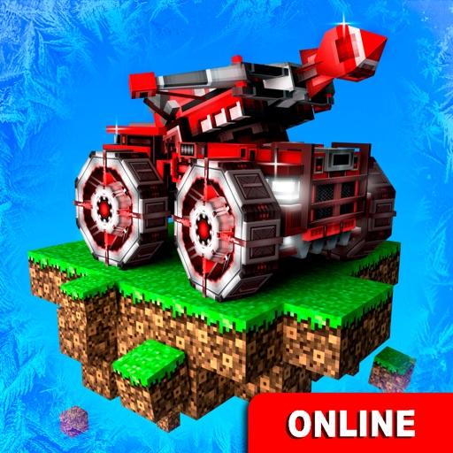 ピクセル車 ( Blocky Cars Online )