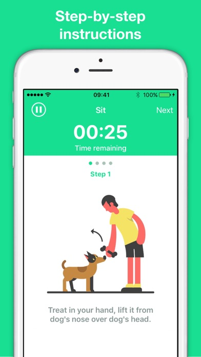 Dogo - train your dog the fun & proven way Screenshot