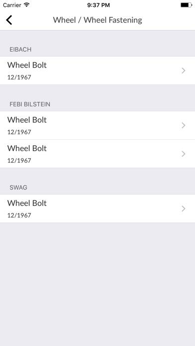 Car Parts for Mercede... screenshot1